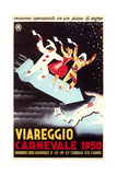 Travel Poster for Viareggio Prints