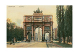 Siegestor, Munich, Germany Prints