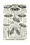 Umbrellas in Sears Roebuck Catalog Posters