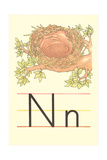 N Is for Nest Posters