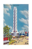 Giant Havoline Thermometer Poster