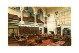 Senate Chamber, Albany Prints