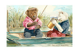 Bears Fishing Prints