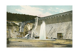 Dam, Croton on Hudson Prints