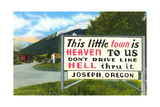 Little Town Is Heaven Prints
