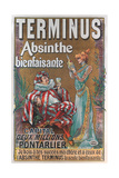 Terminus Absinthe Ad Prints