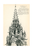 Chartres Cathedral Tower Prints