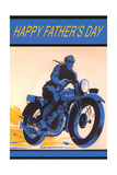 Happy Father's Day, Motorcycle Prints