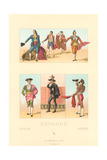 Vintage Bullfighting Outfits Prints