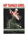 Sheet Music for My Tango Girl Posters