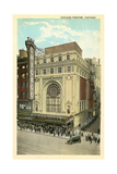 Vintage Chicago Theater Prints