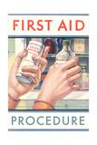 First Aid Procedure Prints