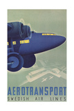 Aerotransport, Swedish Air Lines Prints