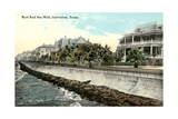Sea Wall, Galveston Prints