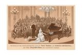 Vintage Concert Souvenir Prints