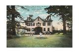 Van Buren's House, Kinderhook Prints