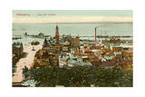 Port at Helsingborg, Sweden Posters