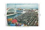 Swift Bridge and Theater, Chicago World Fair Art