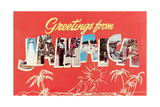 Greetings from Jamaica Posters