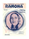 Ramona Waltz Sheet Music Posters