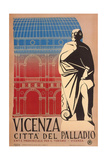 Travel Poster for Vicenza Prints