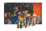Bottle Making Factory Print