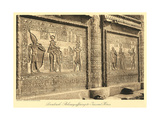 Bas Relief at Denderah Temple Posters
