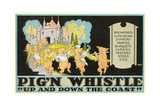 Pig'N Whistle Advertisement Posters