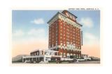 Battery Park Hotel, Asheville Poster