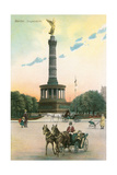 Siegesaule Monument, Berlin, Germany Posters