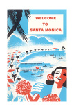 Welcome to Santa Monica Poster