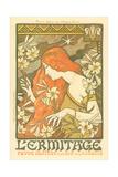 L'Ermitage Magazine Cover Posters