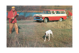 Hunting from Old Station Wagon Posters