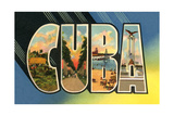 Scenes of Cuba Poster