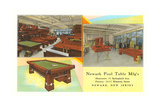 Ad for Pool Tables Prints