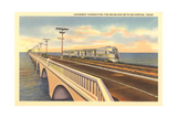 Galveston Causeway Kunstdrucke