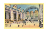 Main Concourse, Grand Central Station Poster