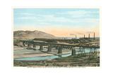 Trestle over Rio Grande, El Paso Prints
