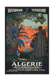 Algeria Travel Poster Kunstdruck