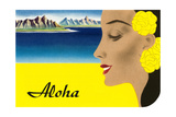 Aloha, Island Maiden Prints