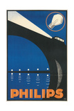 Headlight on Bridge, Philips Posters