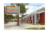 Travelers Motel, Columbia, South Carolina Prints