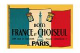 Card for Hotel France et Choiseul Prints