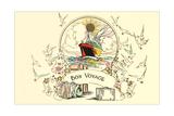 Bon Voyage Card Art