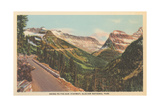 Going-To-The-Sun Highway, Glacier Park Kunstdrucke