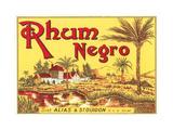 Rhum Negro Label Prints
