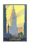Cleveland Union Terminal Print