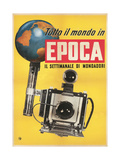 Epoca, Camera and Globe Prints