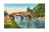 Stone Bridge, Golden Gate Park Print