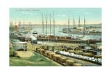 San Pedro Harbor, California Prints